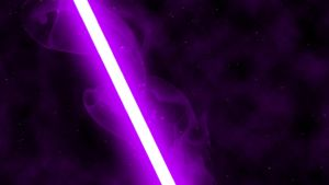 Purple Lightsaber by nerfAvari