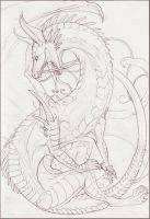 Tim the dragon by Anarchpeace