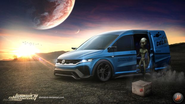 VW Caddy Space Delivery by alemaoVT