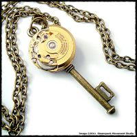Steampunk Swival Front Key by SoulCatcher06