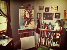 New Studio and Summer Sale by MichaelShapcott