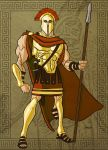 King Leonidas in Color by GavinMichelli