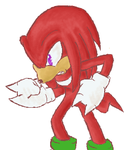 knuckles the echidna by Cornflakee