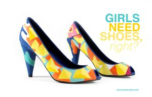 Girls need shoes by Bobsmade