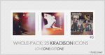 Kradison Icons 2 by toxicows