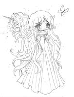 The Lady Amalthea - Contest Prize by YamPuff