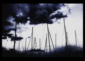 Sailboats. by Pomalujmojswiat