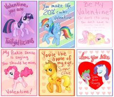 My Little Pony Cards by courtneygodbey