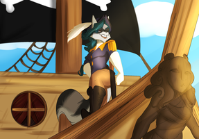 ::COM:: A Pirates' Life for Me by Vixcoon
