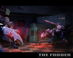 the cannon fodder by the-Higgins