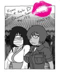 The Kuchisake-Onna and The Red Witch by BloodySoldier007