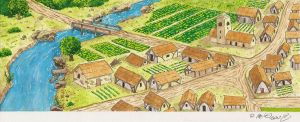 Medieval Village - Final by Betomelo