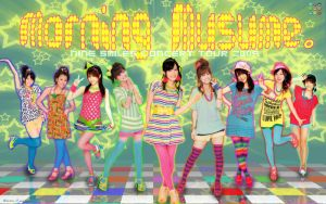 Morning Musume Wallpaper 4wide by tanaka13