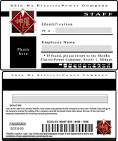 ShinRa ID Card by turks-yo