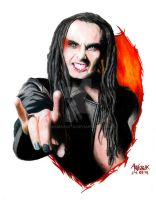 Dani Filth by Red-Szajn