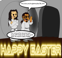 Happy Easter! by DynamiteManEXE