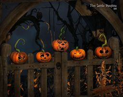 Five Little Pumpkins by Dani3D