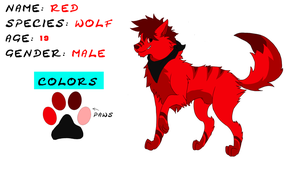 Red's Reference Sheet by W0LFKEN
