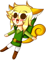 Chibi Squirrel Link by FantasyLinky