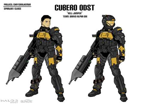 CUBERO ODST by EVANGELION-02