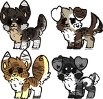 Adoptables [closed] by XxAdoptxX