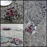 Celtic Star Keychain Commish by ArmoredKoi