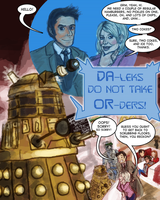 Daleks Do Not Take Orders by Hapo57