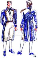 Fashion sketch: Hornblower by rum-inspector