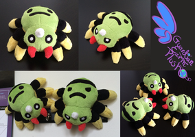 Spinarak Pokemon plush! 6''