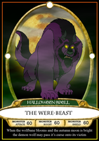 Were-Beast Spell Card by BennytheBeast
