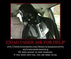 Chad Vader Needs Help by MexPirateRed