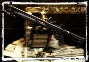 Broadaxe_Paintball_Marker by RealActionPaintball