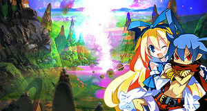Laharl and Flonne from Disgaea by LiquidS0