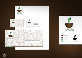 forest cafe Identity by Ibrahimq