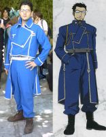 Cosplay FMA Maes Hudges by GBlastMan