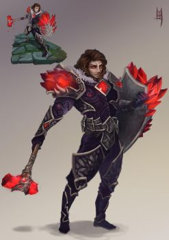 League of Legends: Taric by Ariss18