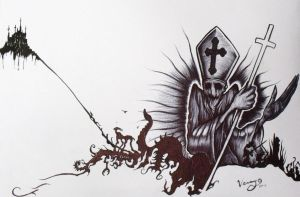 The Black Pope by ScottVersago