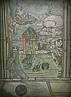 YOKAI CHILDREN ...COME PLAY WITH US by DarrylmPorter