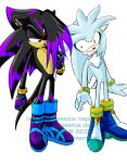 Rizu and Silver by BlizzardWolf