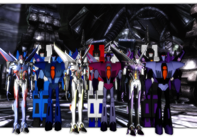 MMD Seeker Trio Generations by mattwo