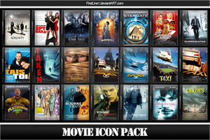 Movie Icon Pack 12 by FirstLine1