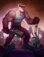 Draw The Goon Art contest piece by johnderekmurphy