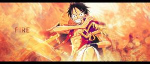 Luffy Signature by Greev
