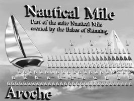Nautical Mile Grayscale by aroche