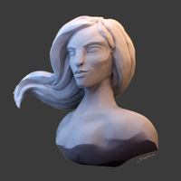 Corrupted Sculpt by SaephireArt