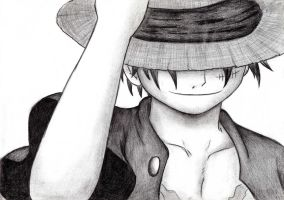 Monkey D. Luffy [1] by reetab