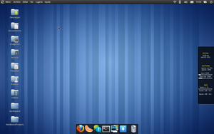 My Elementary OS Desktop by Algalord-Gnome