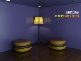Cheeseburger Couch by Firefly033