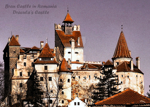 Dracula's Castle by ighy1993
