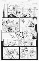SpiderManMs.Marvel INKS 11 by MarkIrwin